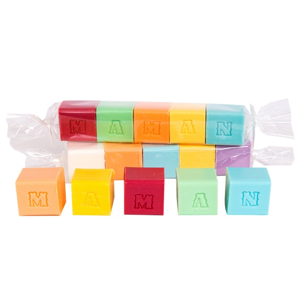Cubes Lettres MAMAN