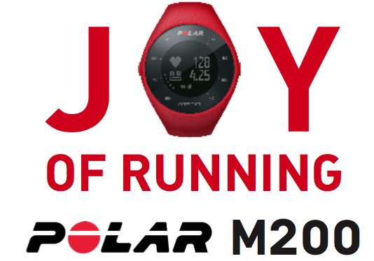 Joy of running polar
