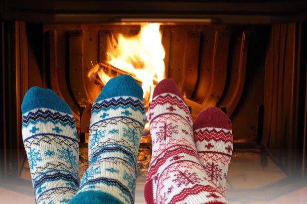 Yaktrax - visuel d'ambiance Cabin socks