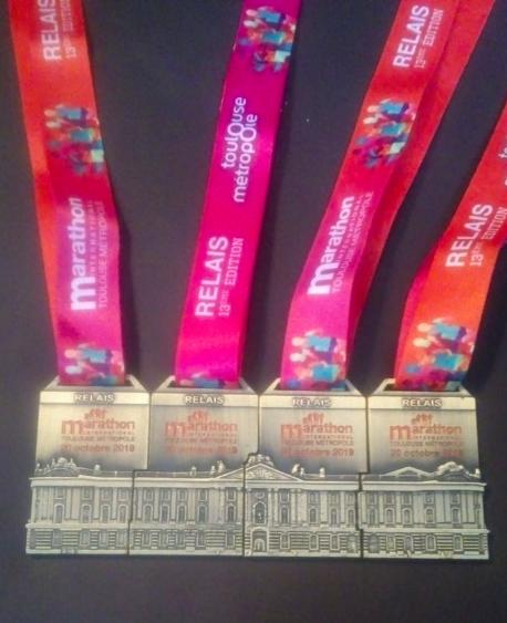 médaille Toulouse